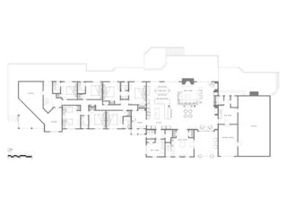 White Lake house photo - Huge floorplan of both the 11 bedroom house and 3 bedroom condo