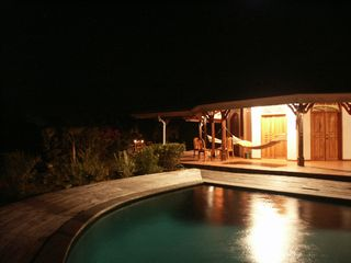 Tobago villa photo - Villa night view