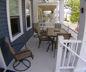 Boardwalk house photo - Porch