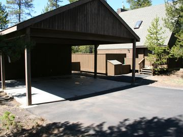 2 car covered carport, keep your vehicles cool in the summer and dry in the wint