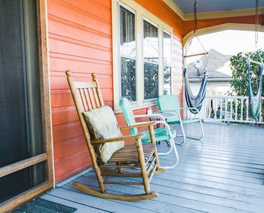 Relax on the porch - the South as imagined
