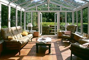 Preston cottage rental - Old Stables conservatory