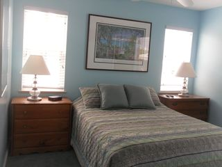 Hutchinson Island house photo - bedroom with queen bed and private bath
