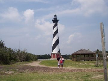 Visit Beautiful Cape Hatteras Lighthouse and Okracoke Island - Via the Ferry