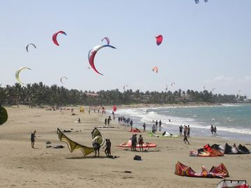 Cabarete-Kite surfing beach