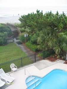 Long Bay Dunes condo rental - Pool, dune, and beach access
