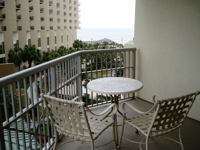 Kingston Plantation condo rental - View the ocean on second balcony located off the 3rd BR.