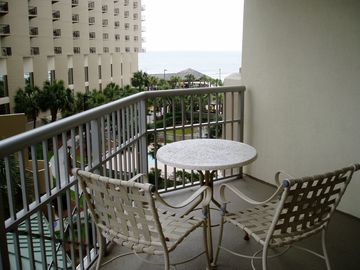 View the ocean on second balcony located off the 3rd BR.