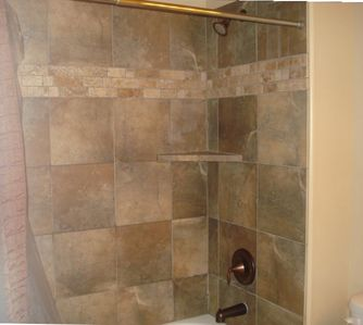 shower in the 2nd full bath upstairs