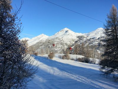 Charming chalet directly on the slopes of Serre Chevalier Chantemerle