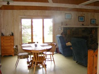 Lubec cottage photo - Dining room