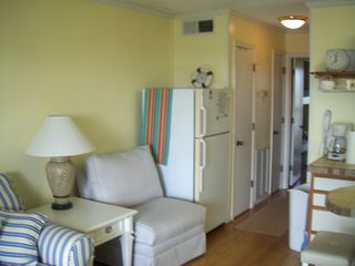 additional seating and full-sized fridge - Isle of Palms condo vacation rental photo