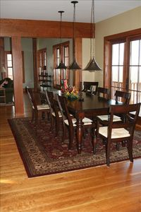 Large Dining area for Families and Friends