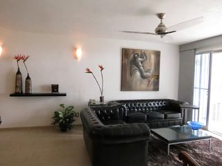 Puerto Vallarta apartment photo - sitting area with view to the balcony and the ocean