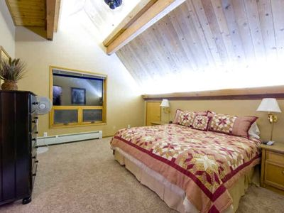 3 Master Bedrooms with private baths and TV (2 King Beds, 1 Queen)