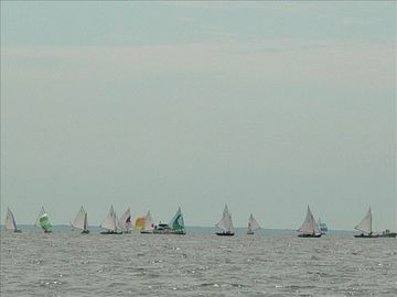 Weekly sailboat races