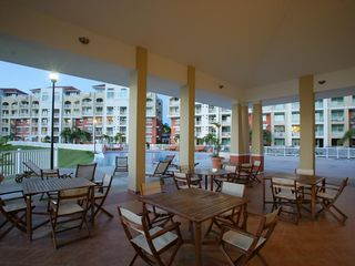 Aguadilla apartment photo - Gazebo Area next to the infinity pool.
