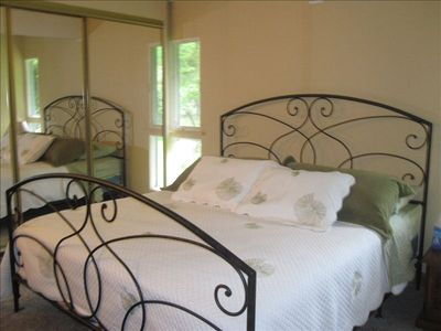 King size master suite, with private, full bathroom