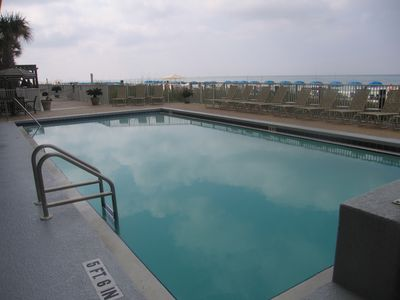 Pool # 2 - Outdoor pool - not heated
