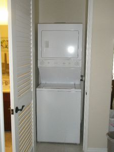 GE Washer Dryer Combo in the Unit.