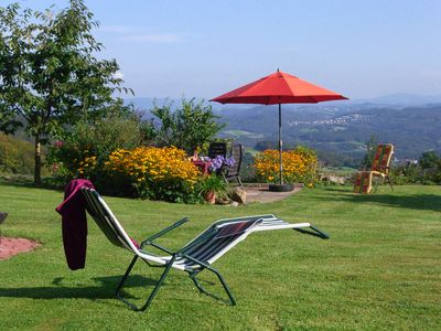 Fantastic Fernblick in 840 m - Large garden with pool - Wifi