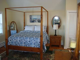 Barnstable estate photo - The four poster Room! ........ Warm, Cozy and Very Comfortable!