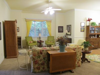 Winter Haven house rental - Living Room