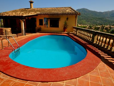 Soller Center house rental - swimming pool