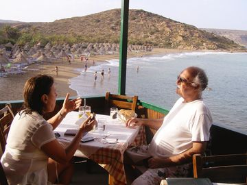 TAVERNA AT NEARBY VAI BEACH