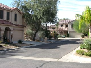 Scottsdale North house photo - View of street the home is located on.