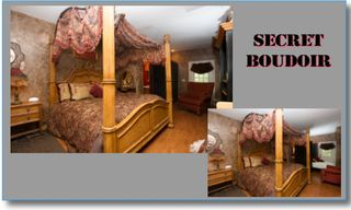 Castro Valley estate photo - Secret Boudoir, Sleeps 4 1 King, 1 Double