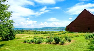 Artful Cottage On 60 Acres; Stunning Water Views; 5 min. to Annapolis Royal