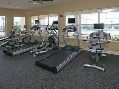 Vista Cay Fitness Room Located in Clubhouse