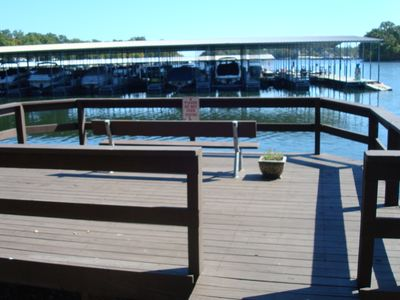 One of 2 Resort Fishing Docks