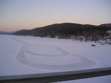 Winter 2008: Racetrack on Lake