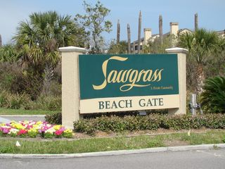 Ponte Vedra Beach condo photo - Entrance to the private beach club