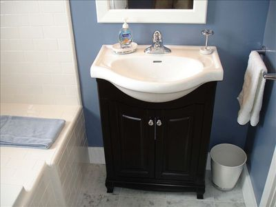 Bathroom completely remodeled-Beautiful!