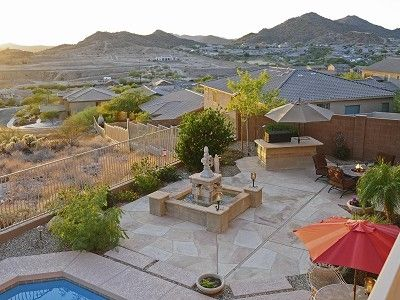 Mountain Views and Spacious Outdoor Entertaining Area (View from Balcony)