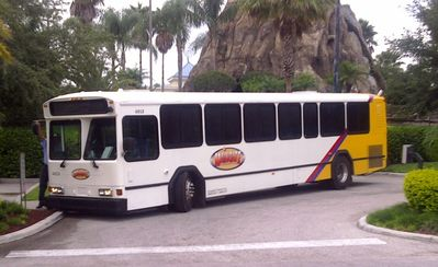 Free shuttle to the Theme Parks!