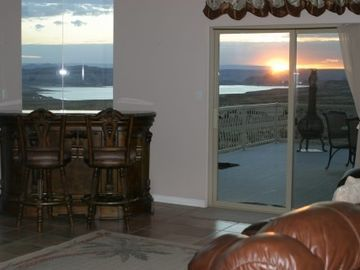 View From Family Room At Sunrise
