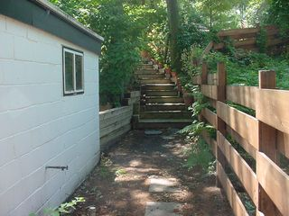 Steps To Thompson Ave. Behind Pedler's Provides a Secret Getaway - Muskegon cottage vacation rental photo