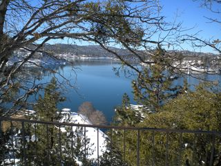 Lake Arrowhead house photo - Vista from marina lookout