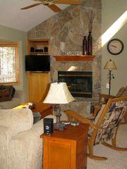 Sunriver house photo - Great Room, Great Fireplace!