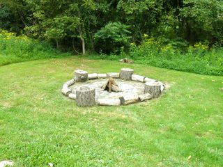 Berkeley Springs cabin photo - One of 2 firepits.