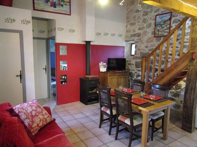 THE MAS DES GRADS OF PERRET, Gîtes *** 2 to 6 p, SOUTH ARDÈCHE, heated swimming pool - Logement 1574242