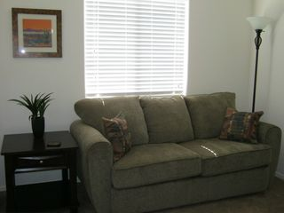San Tan Valley bungalow photo - Den with pull out couch