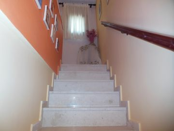 Marble staircase to first floor
