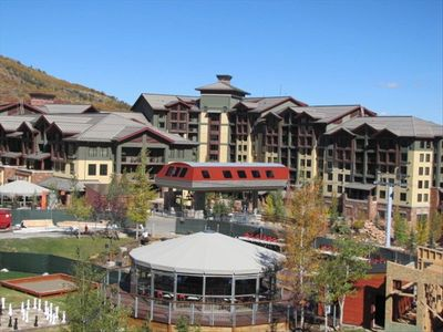 View of Grand Summit and Canyons Resort Plaza