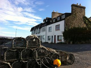 Lobster Pots in Front of the Properties