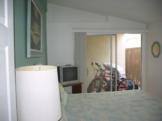 Newport Beach house photo - Master Bedroom. Bikes for use out back slider.